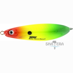 Блесна - незацепляйка Rapala RMSR08 RYGR Rattlin Minnow Spoon